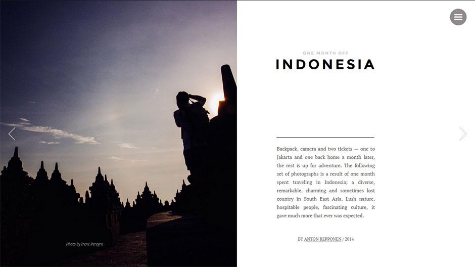 Inspiration* Ein Monat Indonesien von Anton Repponen*