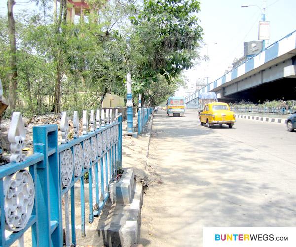 Indien* Mit Hubgeschwindigkeit durch Kolkata*