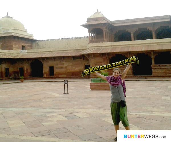 Mit Borussia Dortmun in Indien