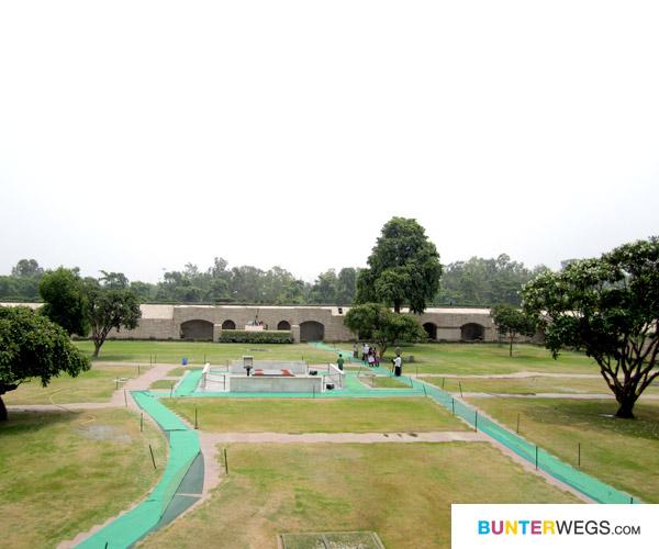 Grabstätte von Mahatma Gandhi*