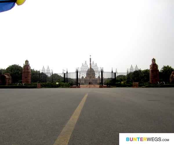 Der Sitz des indischen Regierung: Rashtrapati Bhavan