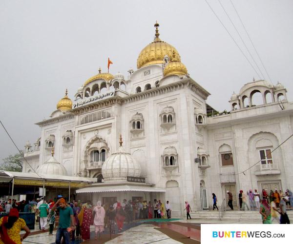 Gurudwara Bangla Sahib in Delhi