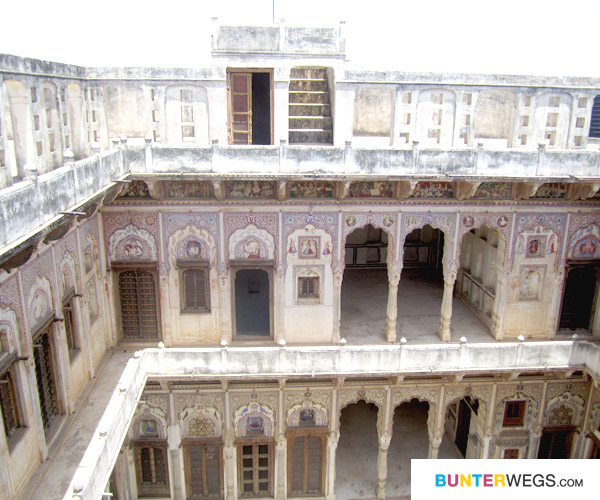 Haveli in Nawalgarh, Indien