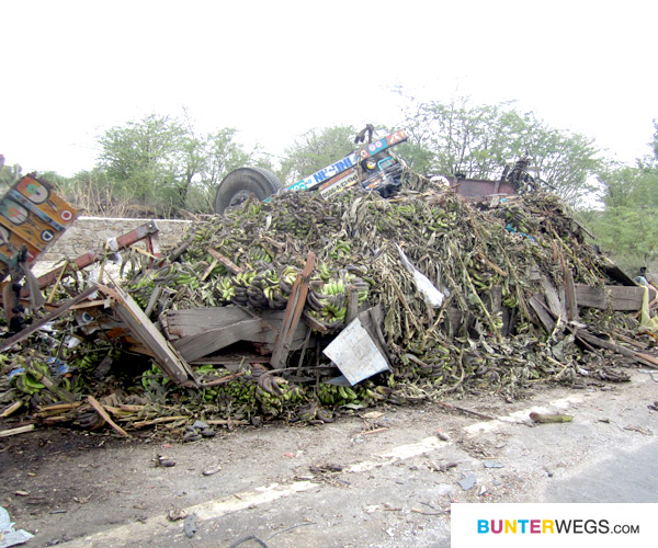LKW Unfall in Indien