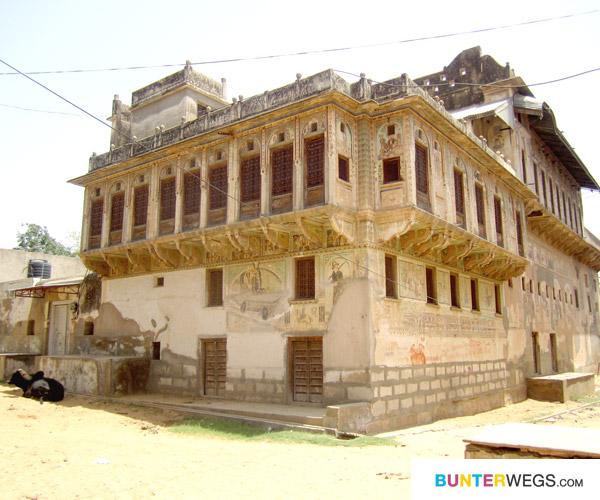 Haweli in Nawalgarh, Indien*