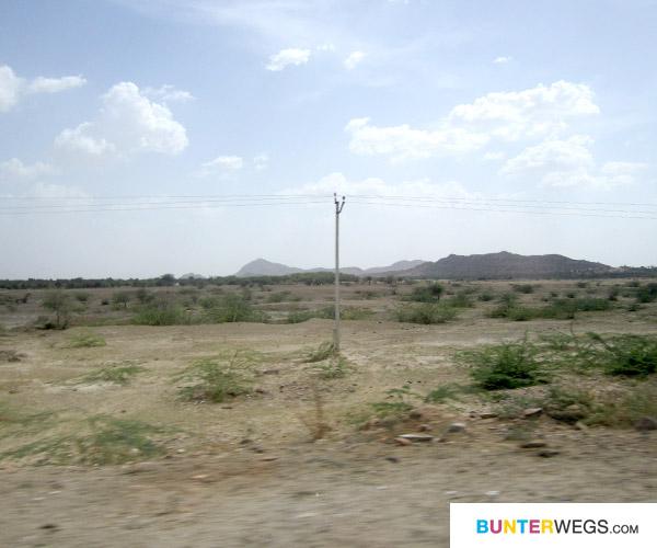 Wüstenlandschaft, Indien