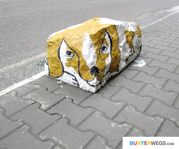 Ein Hund aus Stein* auf BUNTERwegs.com