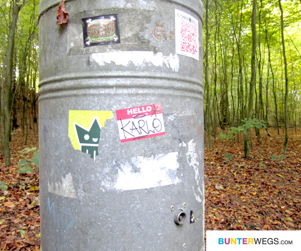 Auch Street Art ist hier zu finden * Späm Burger und Hello Karlo