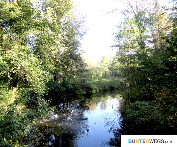 Da kann man mit dem Kanu langfahren * bunterwegs.com