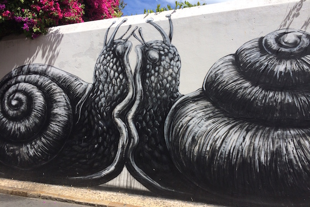 ROA in Lagos, Portugal *