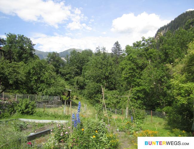 Thusis in Graubünden, Schweiz