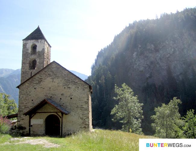 Die Kirche St. Johann Baptista * Hohen Rätien