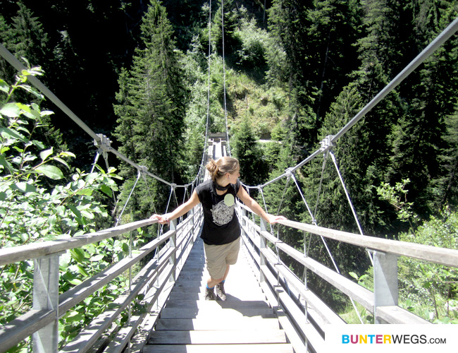 Traversinersteg * Via Spluga * Graubünden, Schweiz