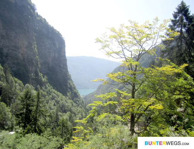 Wandern Molveno - Val del Seghe * BUNTERwegs.com