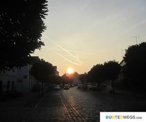 Annaburg um 7.40 Uhr morgens * BUNTERwegs2nepal * BUNTERwegs.com