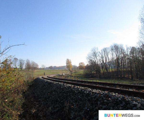 Bahnschienen * BUNTERwegs.com