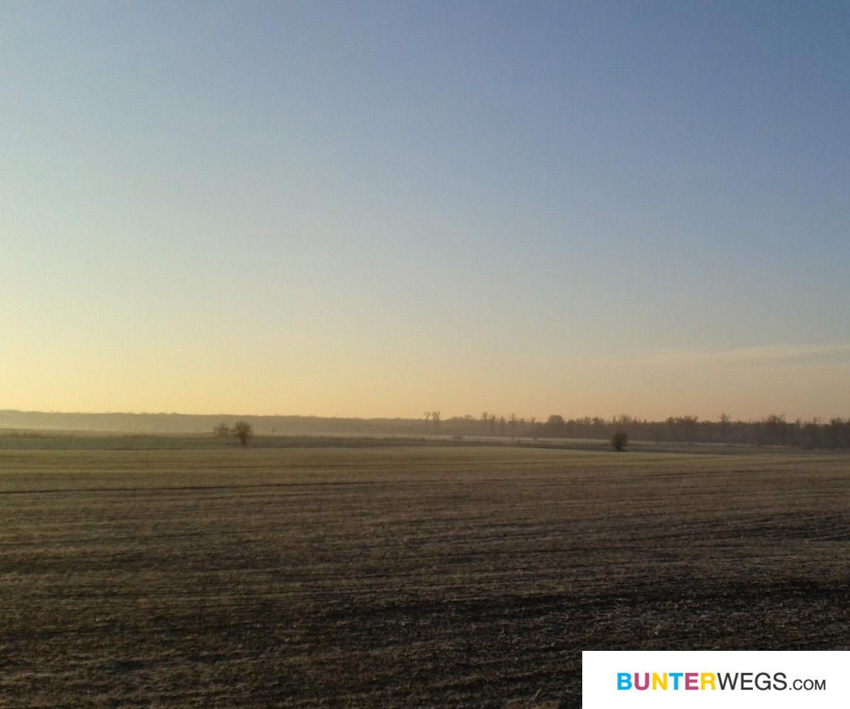 Von Breclav geht es Richtung Slowakei * BUNTERwegs