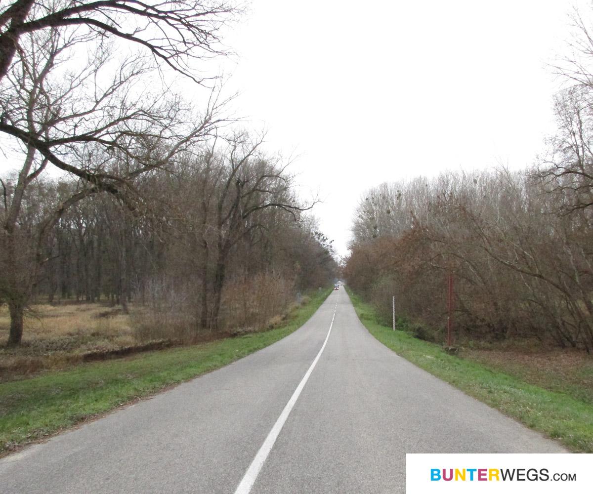 Die andere Seite der Strasse, die Slowakei.