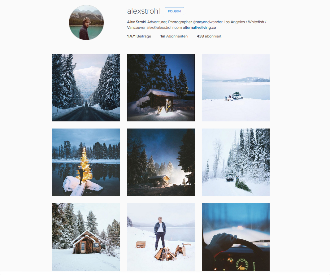 Alex Strohl * Instagram