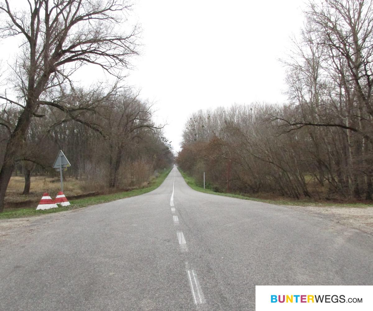 Die Grenze zu Österreich - keine 0,5 km entfernt.