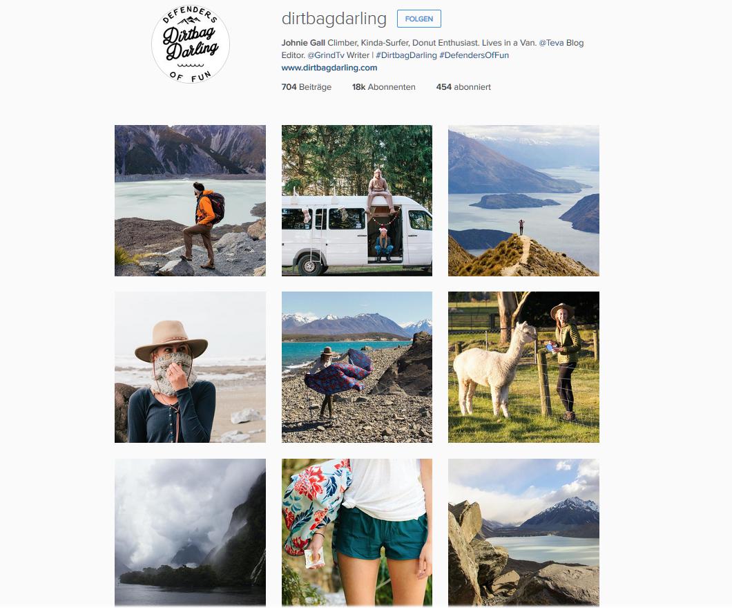 Dirtybag Darling * Instagram