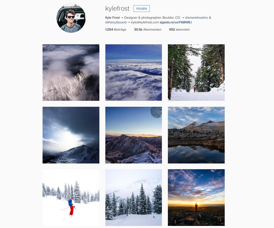 Kyle Frost * Instagram