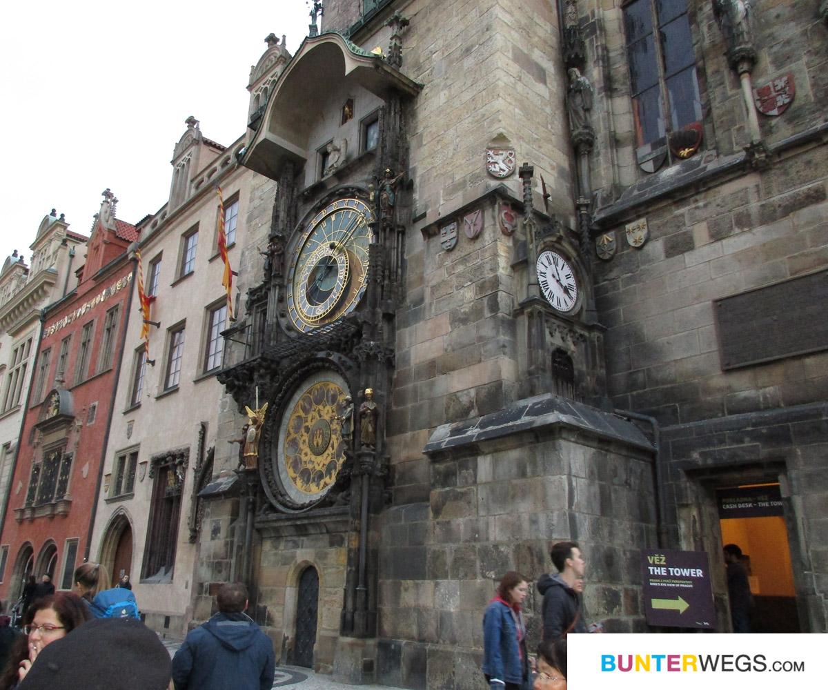 Prager Rathausuhr * Prag, Tschechien * BUNTERwegs.com