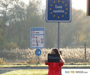 Jessie, Grenze Deutschland - Tschechien