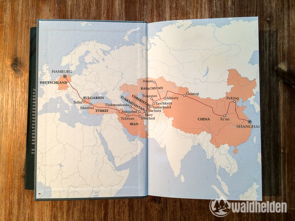 """Route von Tina Uebel in """"Uebel unterwegs"""""""