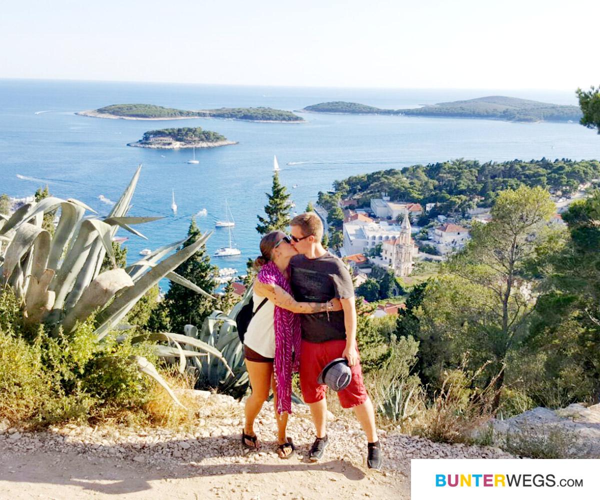 Jessie und Ihr Freund auf Hvar, Kroatien * BUNTerwegs.com