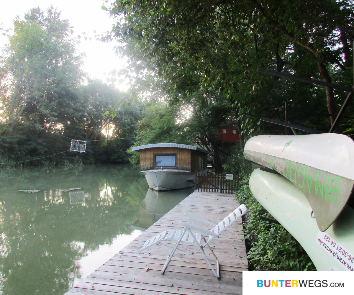 Campingplatz in Rajka, Ungarn * BUNTERwegs. Der Outdoor Blog für Frauen mit Liebe zum Wandern und zur Street Art