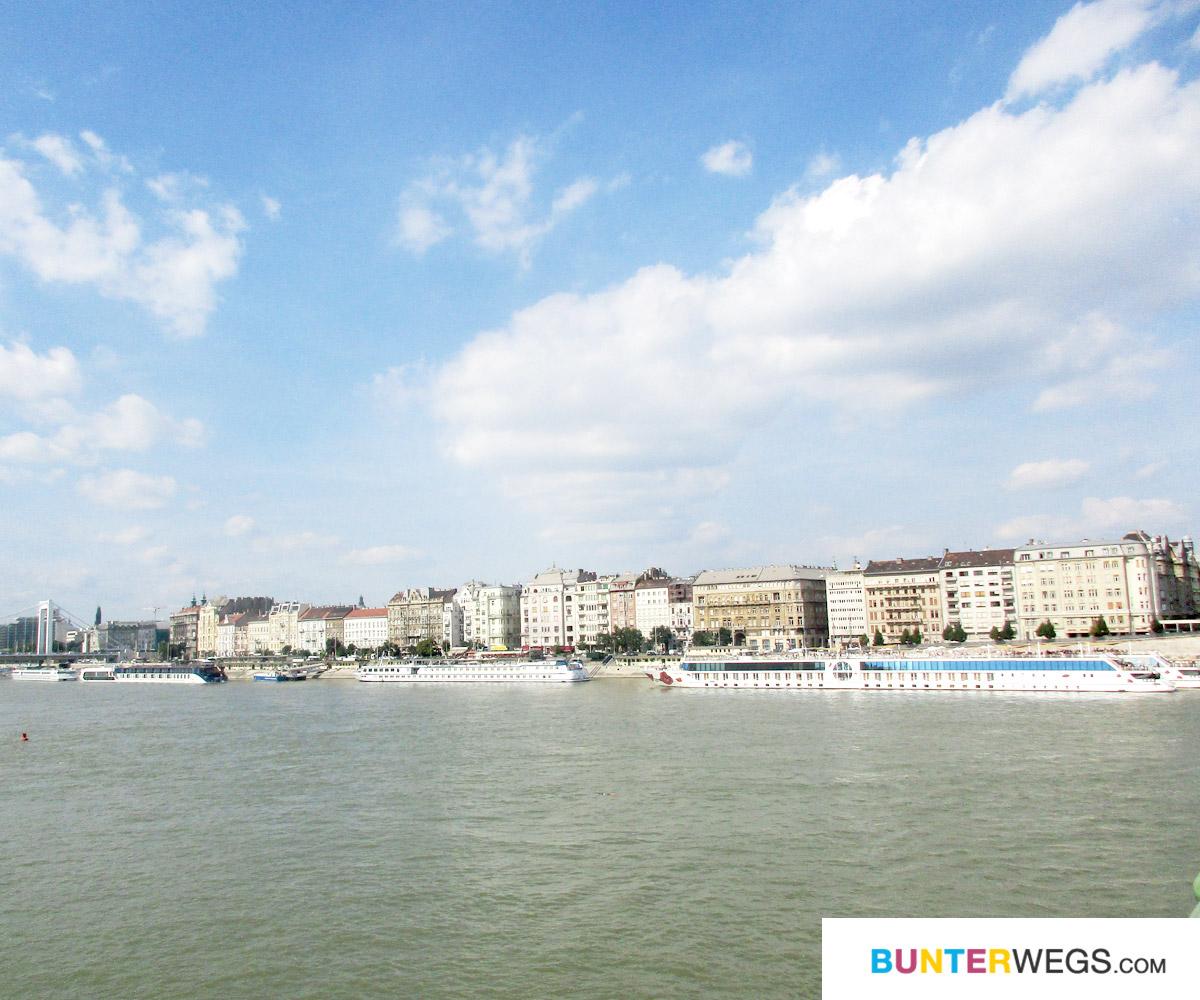 DIe Donau in Budapest, Ungarn * BUNTERwegs. Der Outdoor Blog für Frauen mit Liebe zum Wandern und zur Street Art
