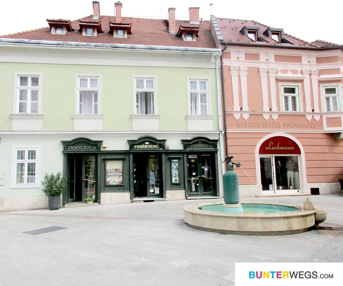 Györ in Ungarn. Etappenziel des ungarischen Jakobswegs * BUNTERwegs. Der Outdoor Blog für Frauen mit Liebe zum Wandern und zur Street Art