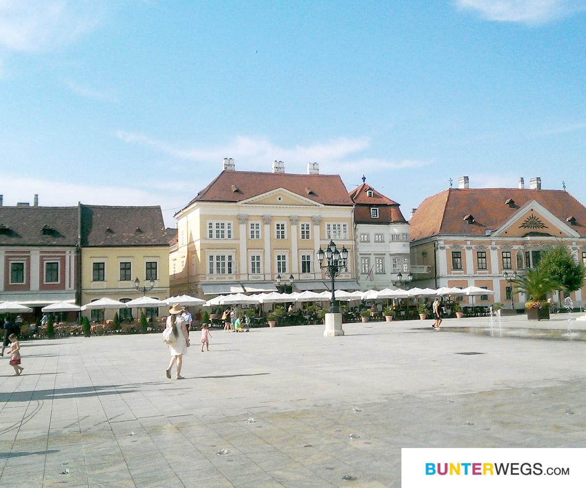 Györ in Ungarn * BUNTERwegs. Der Outdoor Blog für Frauen mit Liebe zum Wandern und zur Street Art