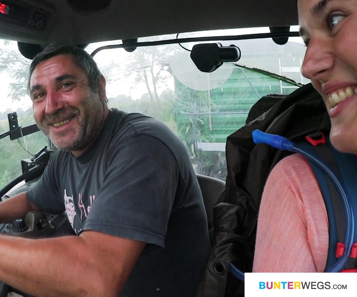 Begegnungen unterwegs auf der Wanderung von Deutschland nach Nepal: Ein ungarischer Landwirt