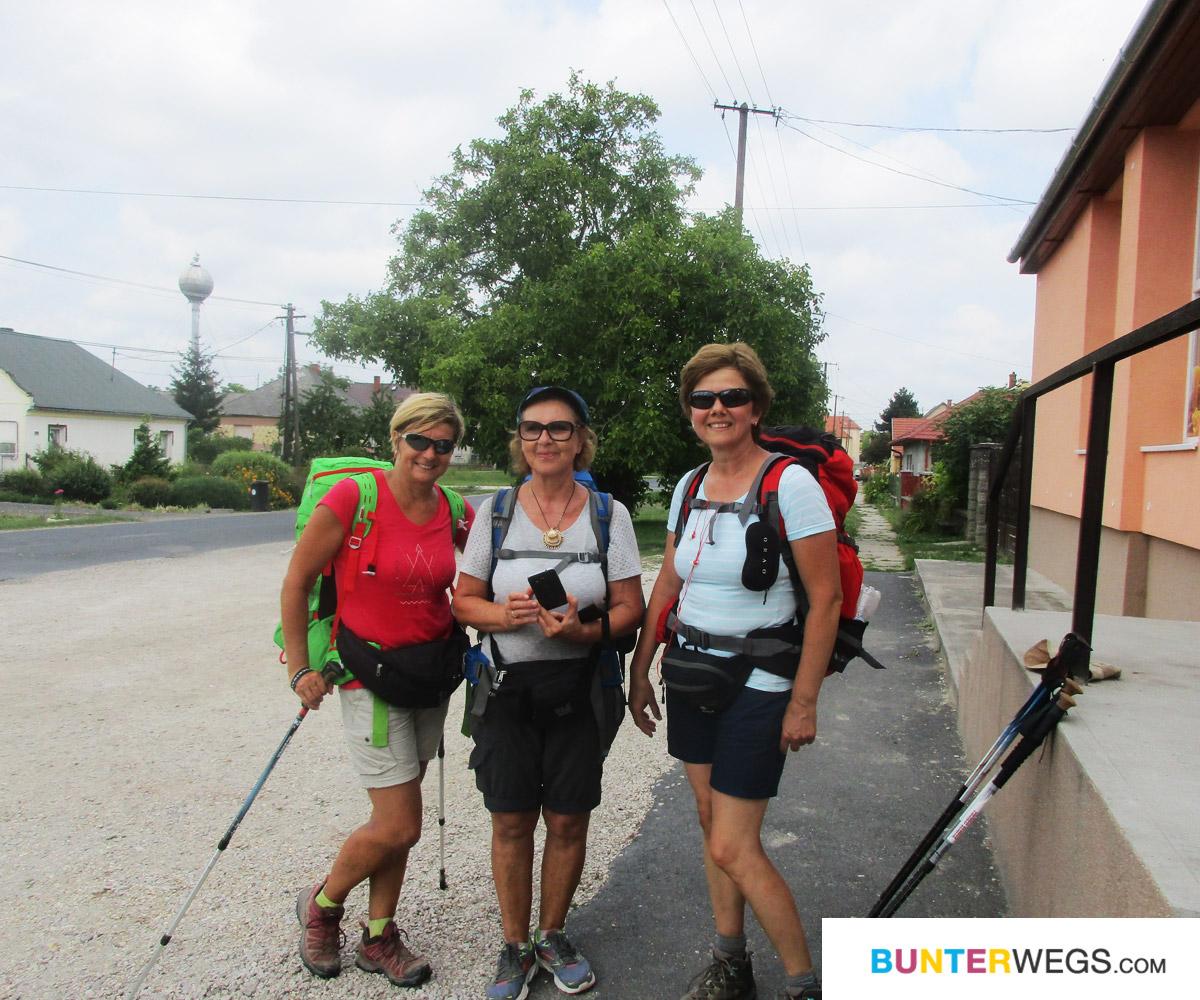 Begegnungen unterwegs auf dem ungarischen Jakobsweg * BUNTERwegs. Der Outdoor Blog mit Liebe zum Wandern und zur Street Art
