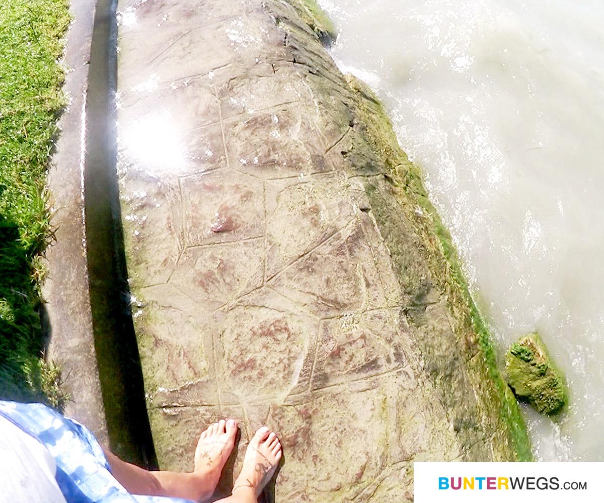 Das Wasser im Balaton ist soooooo kalt gewesen * BUNTERwegs. Der Outdoor Blog mit Liebe zum Wandern und zur Street Art