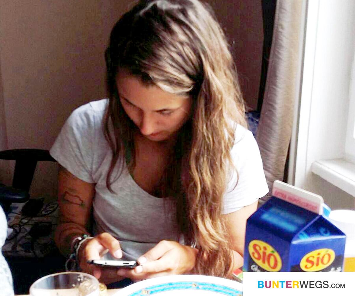 Jessie in einer Unterkunft über Airbnb in Budapest * BUNTERwegs. der Outdoor Blog für Frauen mit Liebe zum Wandern und zur Street Art