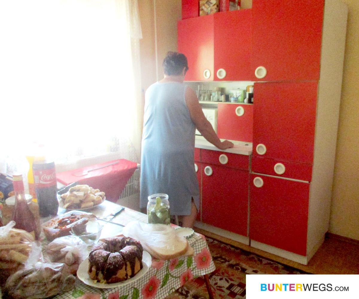Zuhause bei einer älteren Dame in Pusztamérges * BUNTERwegs. Der Outdoor Blog mit Liebe zum Wandern und zur Street Art