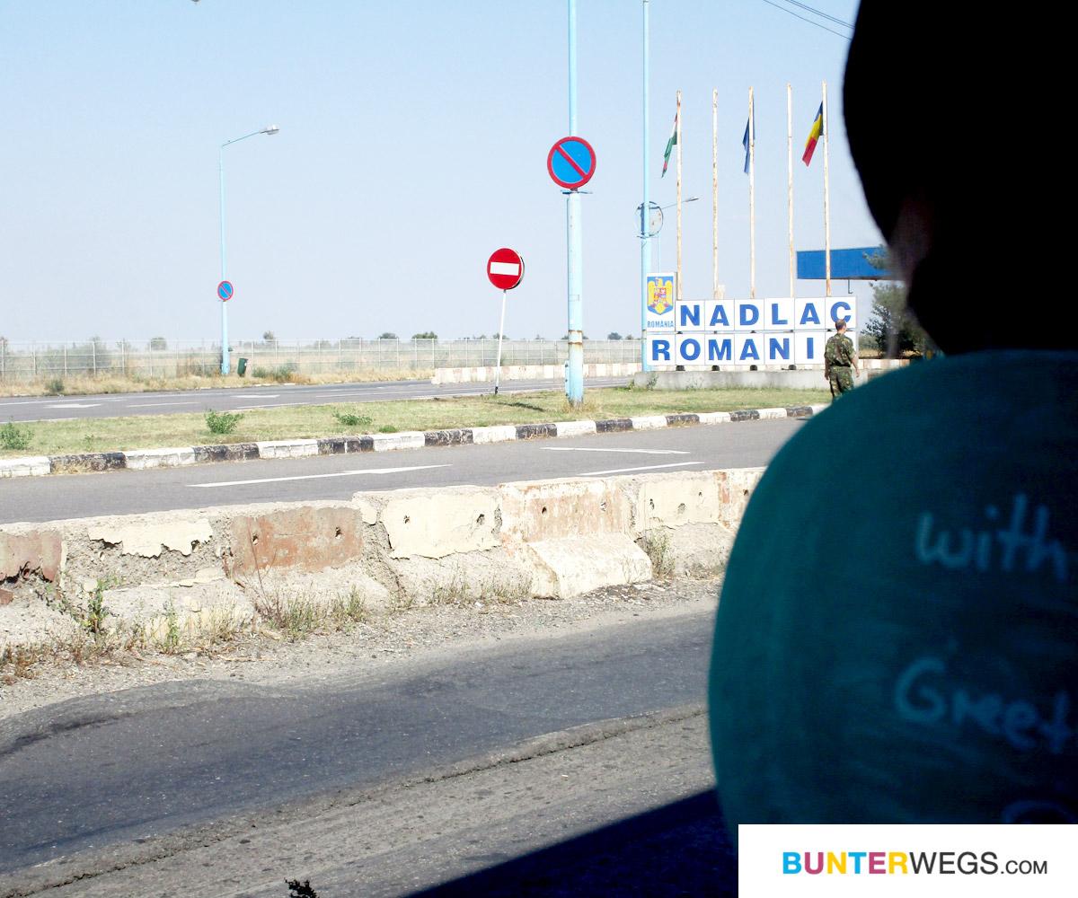 Die rumänische Grenze ist erreicht! * BUNTERwegs. Der Outdoor Blog mit Liebe zum Wandern und zur Street Art