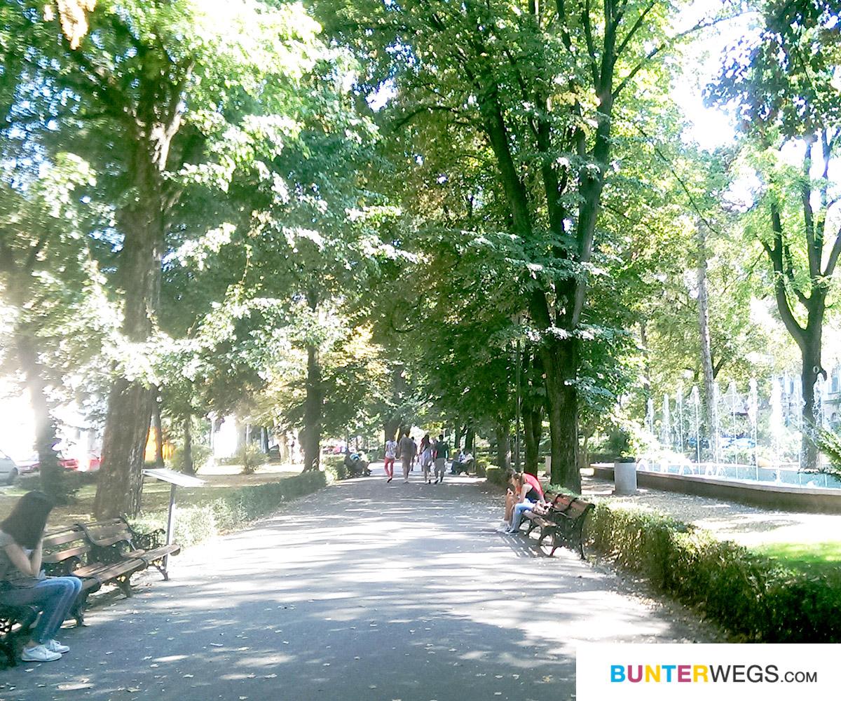 Ein Park in Sibiu, Rumänien * BUNTERwegs. Der Outdoor Blog mit Liebe zum Wandern und zur Street Art