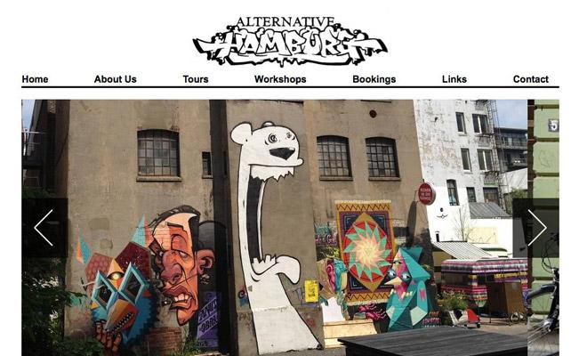 Street Art Touren & Workshops in Hamburg mit Alternative Hamburg